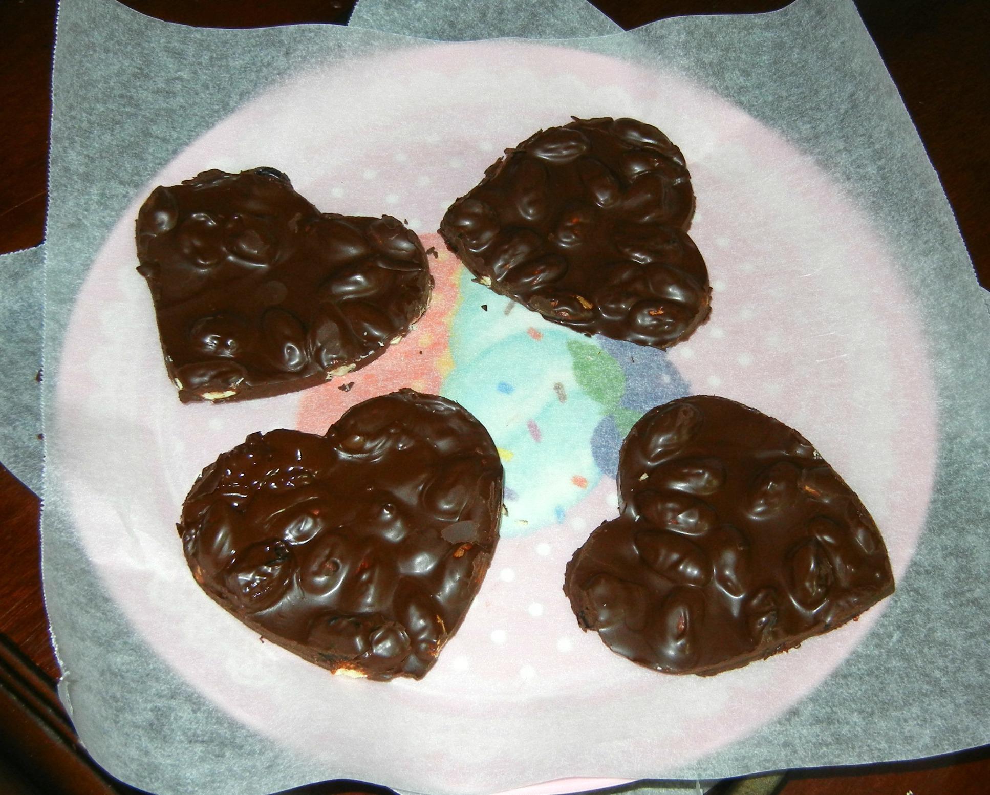 συνταγές Σοκολατάκια σοκολάτα επιδόρπια γλυκά με σοκολάτα γλυκά αμύγδαλα