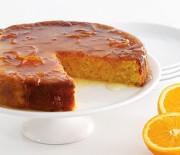 Κέϊκ Πορτοκαλιού με γλάσο πορτοκαλιού