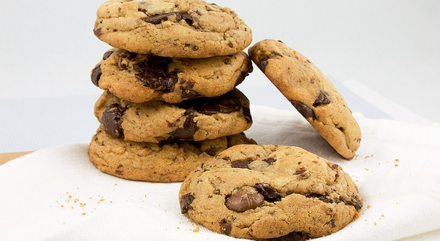 Cookies με κομματάκια σοκολάτας
