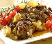 Μπουτάκι αρνίσιο μαριναρισμένο στο φούρνο