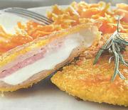 Κοτόπουλο σνίτσελ cordon bleu