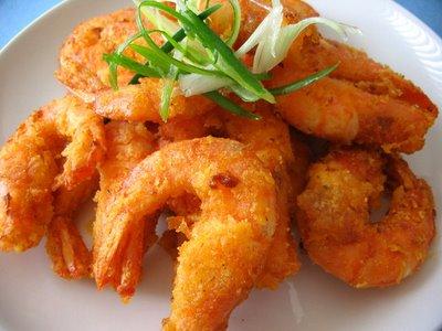 Τραγανές τηγανιτές γαρίδες με φανταστικό Dressing