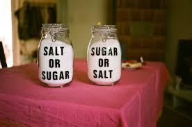 Ζάχαρη και αλάτι: Αυτό το ξέρατε ;