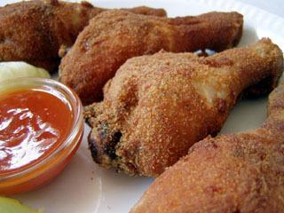 Τραγανά μπουτάκια κοτόπουλου