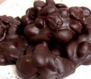 """Σοκολατάκια αμυγδάλου """"Double chocolate"""" με 3 υλικά"""
