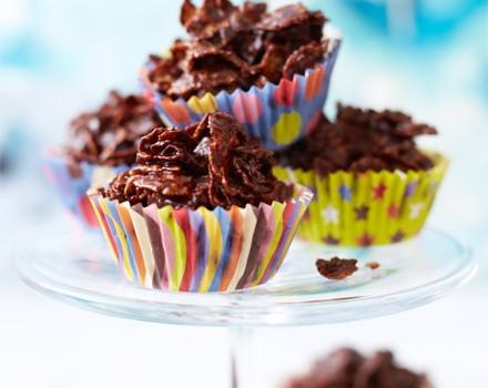 Πανεύκολα σοκολατάκια με corn flakes σε 15΄ με 3 υλικά σε 3 κινήσεις