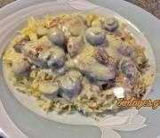 Φιλετάκια κοτόπουλου με μανιτάρια και υπέροχη σάλτσα