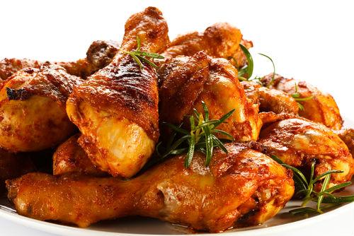 Αρωματικά μπουτάκια κοτόπουλου στο γκριλ