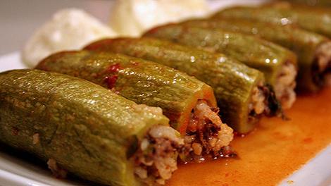 Stuffed-zucchini-recipe-kousa mahshi