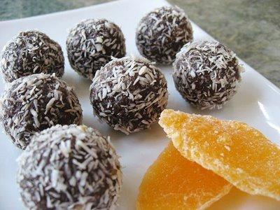 Σοκολατένιες μπουκίτσες με καρύδα