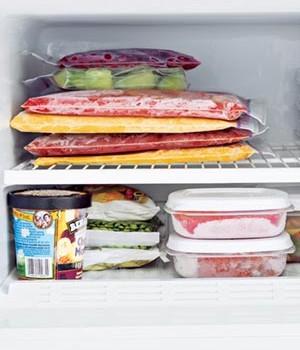 Πως να καταψύξετε σωστά φαγητά και λαχανικά