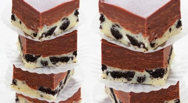Πανεύκολο γλύκισμα με διπλή σοκολάτα & όρεο με 5 υλικά έτοιμο σε 15΄