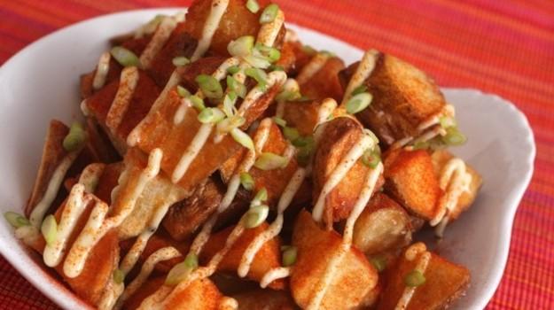 Υπέροχες πατάτες Bravas