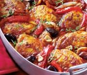 Νόστιμο και λαχταριστό μεσογειακό κοτόπουλο