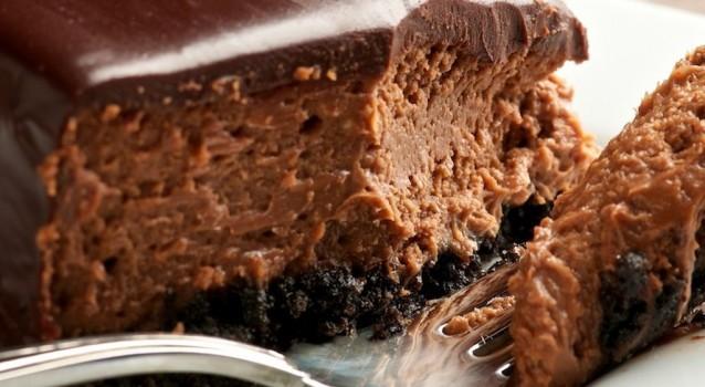 Υπέροχη τάρτα oreo με τριπλή σοκολάτα