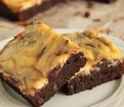 Υπέροχο Cheesecake brownies