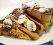 Υπέροχα γαλλικά τοστάκια με νουτέλα και μπανάνα σε 15 λ