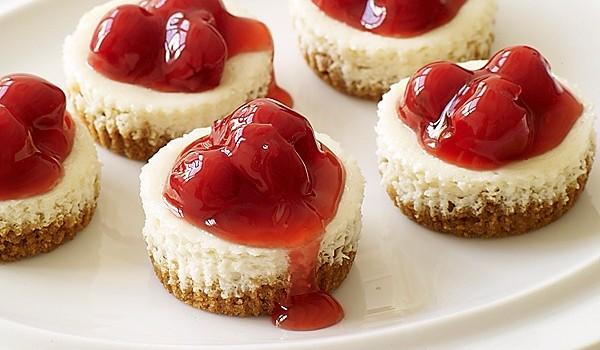 Μικρά δροσερά cheesecake σε 15′