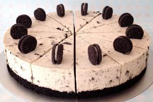 Oreo cheesecake λευκής σοκολάτας