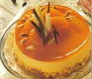 Ανάλαφρο cheesecake με ζελέ πορτοκαλιού
