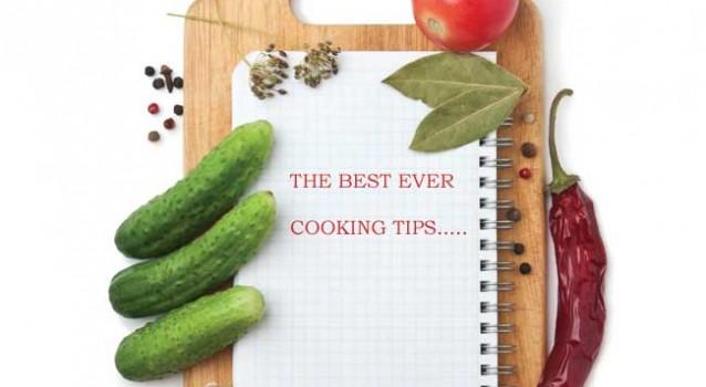 10 Μαγειρικά Τips για Πετυχημένα Γλυκά και Φαγητά