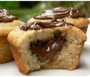 Εύκολα και γρήγορα Muffins με nutella