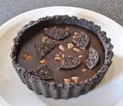 Πανεύκολη Τάρτα με όρεο και γέμιση σοκολάτας