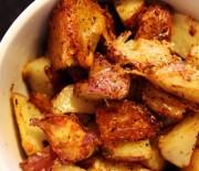 """Πατάτες με παρμεζάνα τραγανές απ"""" έξω μαλακές μέσα"""