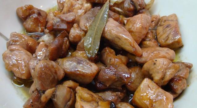 Κοτόπουλο σκορδάτο