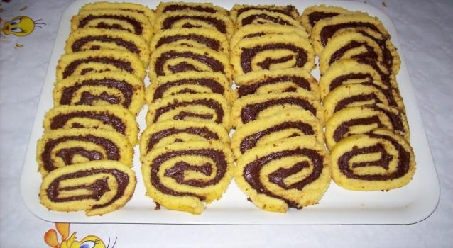 Ρολό μπισκότου με Νουτέλα με 3 μόνο υλικά σε 20΄