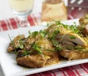 Κοτόπουλο με σως βινεγκρέτ