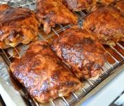 Πικάντικο κοτόπουλο στο φούρνο με μέλι και μπαχαρικά