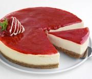 """Cheesecake φράουλας διαίτης με γλυκαντικό """"onstevia"""""""