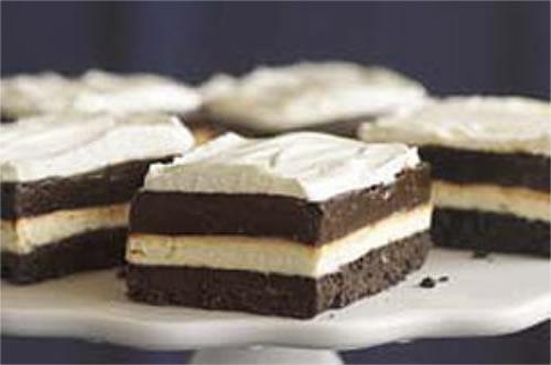Γλυκό ψυγείου με μπισκότο όρεο, cheesecake και κρέμα σοκολάτας