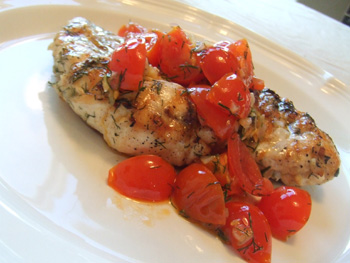 dill-chicken-with-tomato-dill-relish