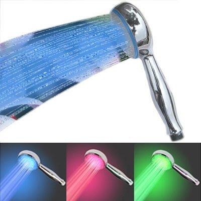 temperature-led-showerhead
