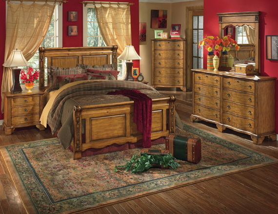 Country-Bedroom-Design-Ideas-with-Wooden-Furniture