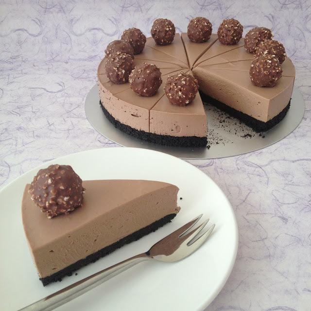 ψυγείου συνταγές επιδόρπια γλυκά με σοκολάτα γλυκά nutella cheesecake