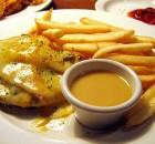 Κοτόπουλο με μανιτάρια μπέικον, τυρί και σάλτσα μουστάρδας μελιού