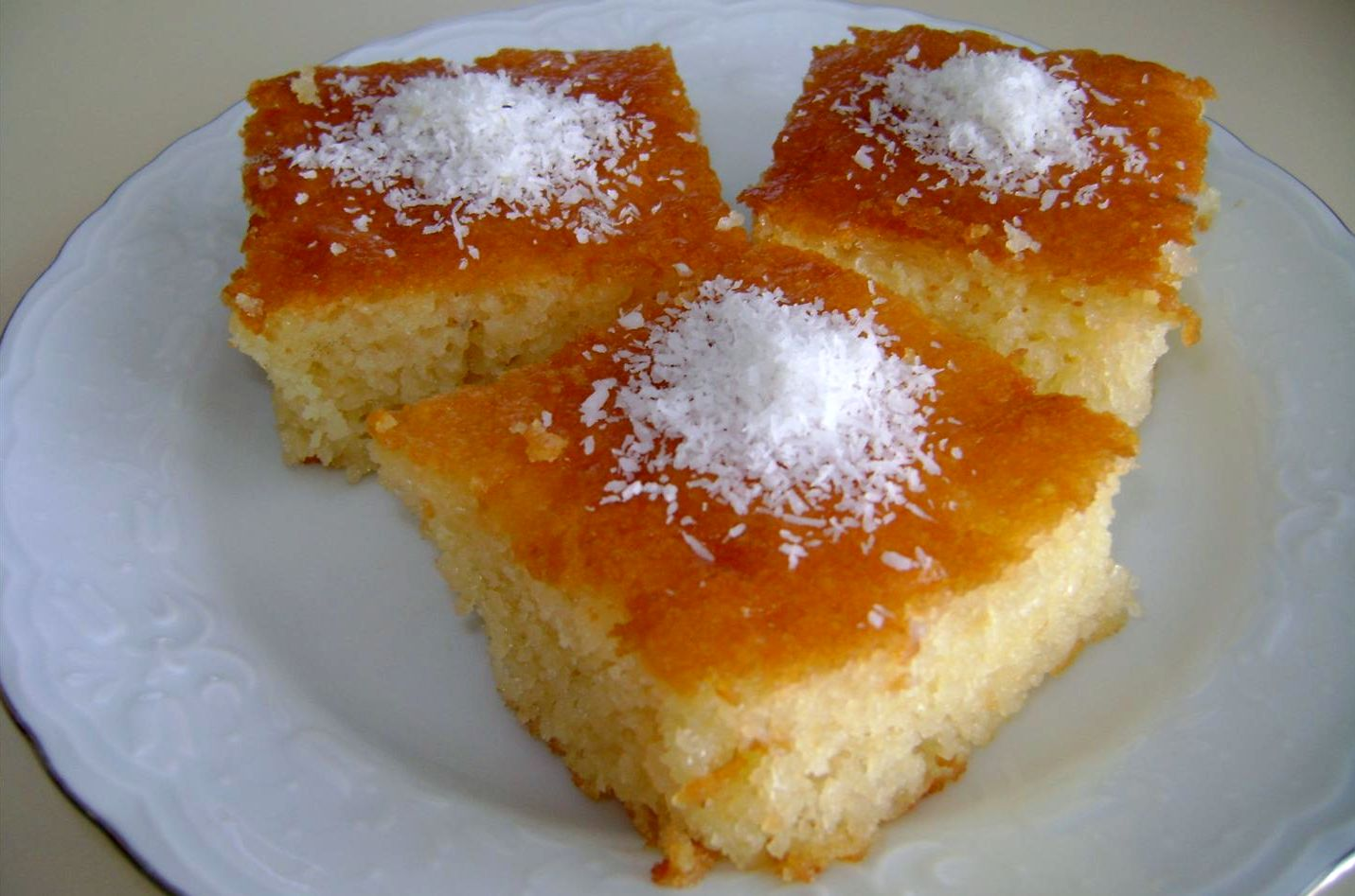 φούρνου συνταγές σιρόπι Ραβανί επιδόρπια γλυκά