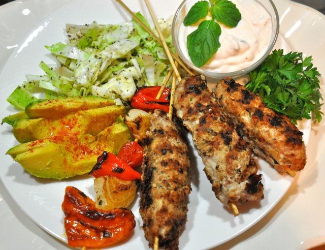 Turkey-kebab-plate