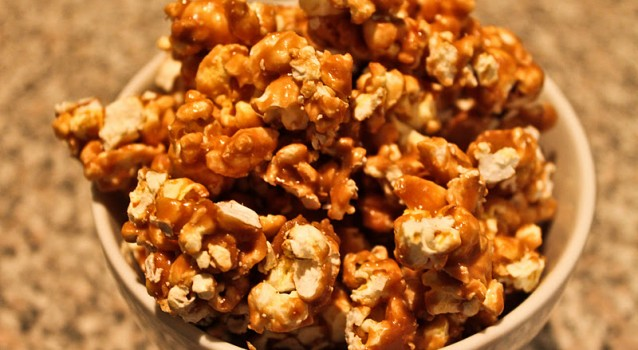 Καραμελωμένα Pop Corn