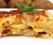 Σουφλέ με πατάτες και τυριά