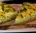 Πατατόπιτα με σπανάκι και τυρί φέτα