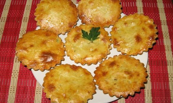 Ταρτάκια τυριών με σφολιάτα