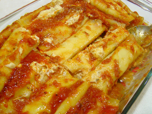 Cannelloni de frango