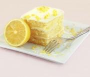 Κέικ λεμονιού με λεμωνάτη κρέμα τυριού
