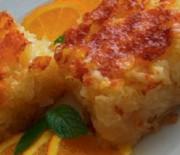 Πανεύκολη πορτοκαλόπιτα σιροπιαστή