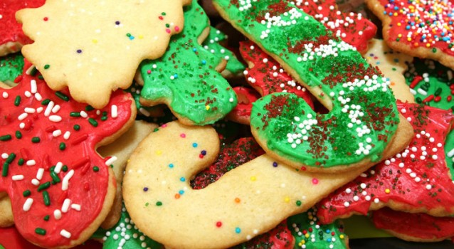 Χριστουγεννιάτικα Μπισκοτάκια Βουτύρου