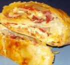 Παστουρμαδόπιτα πικάντικη με σφολιάτα